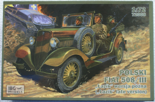 IBG Models 1/72 72008 Polish Fiat 508/III Late Version